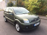 2006 56 FORD FUSION 1.4 ZETEC CLIMATE AUTOMATIC 5 DOOR HATCHBACK VERY LOW MILEAGE