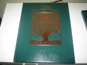 NEW Our Family Tree: A History of Our book - 2 copies available