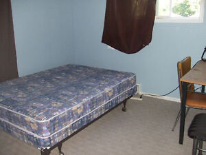 Large furnished room in 2BR APT
