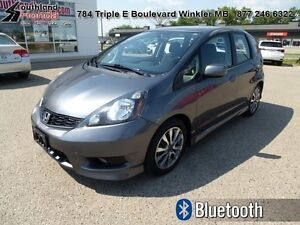 2012 Honda Fit Sport  - Bluetooth -  Fog Lights - $129.36 B/W