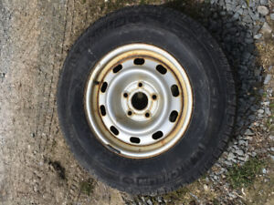 Michelin LTX Winter  LT265/70R17 tires on Dodge Ram rims