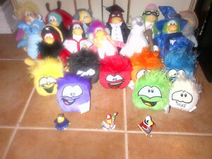 Club Penguin Stuffed Characters - $5 each