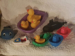 Tub Toys - ducky, boats and sink/float Northumberland toy