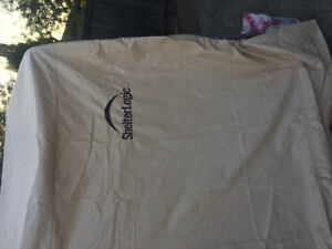 10x20 Shelter Logic tent for sale