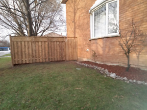 Fence repairs and decks