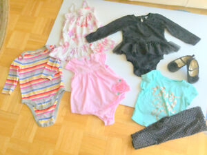 Baby Girl Cute Clothes (12-18 m.) (7 =$1.70 ea.) Dresses, Shoes