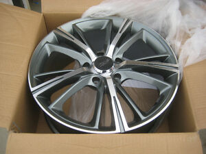 NEW MB Wheels Optima wheels 17x7 Gunmetal Machine 5x114.3