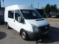 2007 57 FORD TRANSIT 2.2 TDCi DURATORQ 280 CREWN VAN SEMI HIGH ROOF