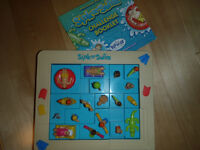 PRESCHOOL BOARD GAME/JUST LIKE NEW