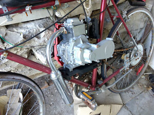 Fully assembled 49cc 4 stroke Bicycle Engine