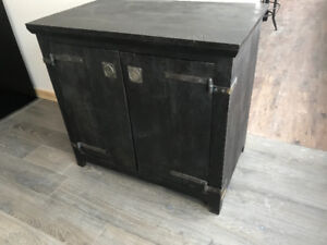 Rustic wood vanities