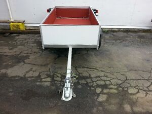 New aluminum utility trailer