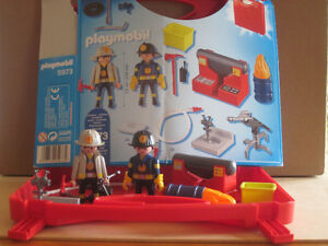 Playmobil Firefighter Take-a-long