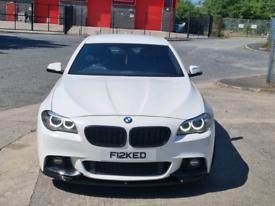 BMW 520D M SPORT (MINT) LCI 8 SPEED AUTO NOT EVO SUBARU 320D 330D 520