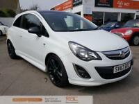VAUXHALL CORSA LIMITED EDITION White Manual Petrol, 2013