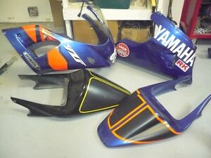 98-01 R1 track fairings and gear