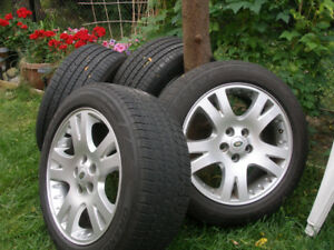 """4 X Land Rover Range Rover 19"""" Wheels &Tires excellent condition"""