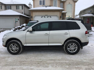 2009 VOLKSWAGEN TOUAREG 2 COMFORT LINE LEATHER ROOF LIMITED