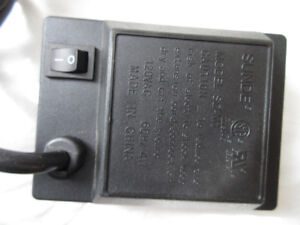 Rotisserie Motor by Sunde, Model SD-M1, with on off switch