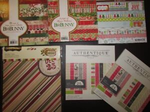 Christmas holiday scrapbooking/papercrafting paper pads