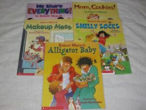 ROBERT MUNSCH - CHILDRENS BOOKS - GREAT SELECTION - CHECK IT OUT