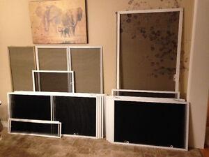 Screen Replacement + Repair 4 Windows+Doors, Custom Frames Built Cambridge Kitchener Area image 5