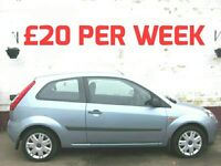£20 per WEEK* 2007 FORD FIESTA 1.25 STYLE CLIMATE LOW INSURANCE CHEAPEST ONE AROUND