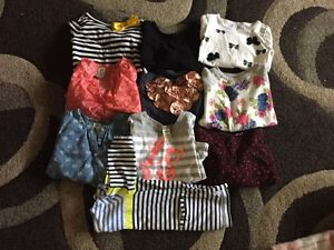 Long sleeved girls tops - 10 tops