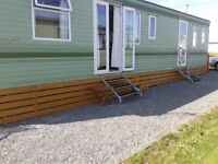 "Static Caravan For Hire 2 Bed 4 Berth at "" Ocean Edge Leisure Park "" Heysham Morecambe"