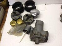 BSA GS Carburettor Bits