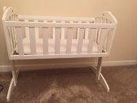 Swing crib