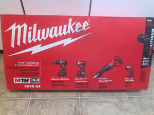 Milwaukee 4 Piece Set