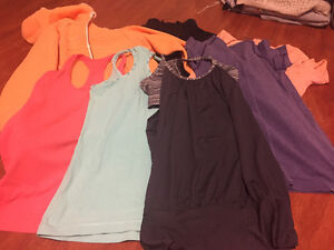 Variety of Lululemon Tops Size 4