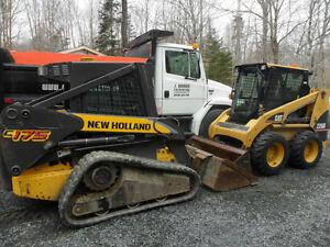 Bobcat (Skid Steer) Service / J. Brown Excavating Ltd.