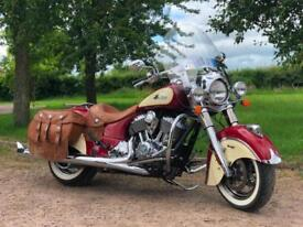 2015 Indian Chief Vintage 1811cc Only 2796 Miles From New
