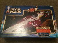 Star Wars obi-wan Jedi starfighter. 2001. Boxed complete.