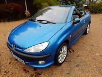 cheap car - 2001 Peugeot 206 CC 2.0 16v SE 2dr