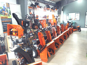 Columbia snowblowers available now at Roy Duguay Sales!!!!