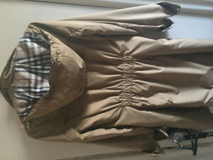 Burberry rain coat
