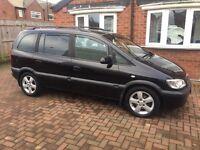 Vauxhall zafira 2.0 diesel, 2004 Reg , good condition,£799.