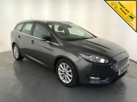 2015 FORD FOCUS TITANIUM TDCI DIESEL ESTATE 1 OWNER FORD SERVICE HISTORY FINANCE
