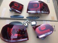 Mk6 golf led rear lights fits Gtd Gti r20 GT TDI tsi