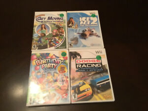 WII games for sale only 10$ Each