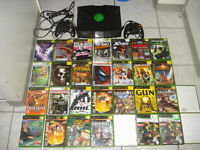 Original Xbox w/2 Controllers and Over 3500 Games!