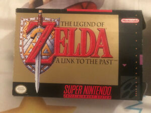 The Legend Of Zelda: A Link To The Past, In Box