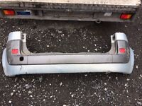 Renault Scenic rear bumper and lights