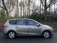 2010 10 Renault Grand Scenic 1.6 VVT (110bhp) Dynamique Tom Tom..7 SEATS