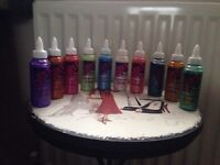 Glitz It Pearlescent Glue 120ml ( Various Colours)