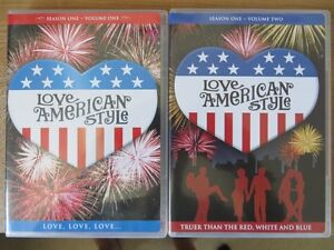 LOVE AMERICAN STYLE,SEASON ONE, VOLUME 1 & 2