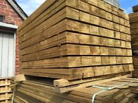 🌲Pressure Treated High Quality Feather Edge Wooden Fence Panels/ Boards/ Pieces • Various Sizes🌲
